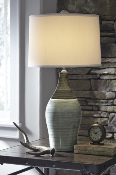 Ashley Ceramic Table Lamp (2/CN)