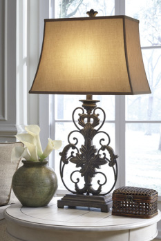 Ashley Poly Table Lamp (1/CN)/Sallee
