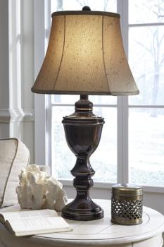 Ashley Metal Table Lamp (2/CN)/Glyn