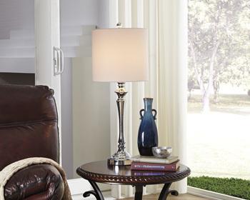 Ashley Metal Table Lamp (2/CN)/Taji