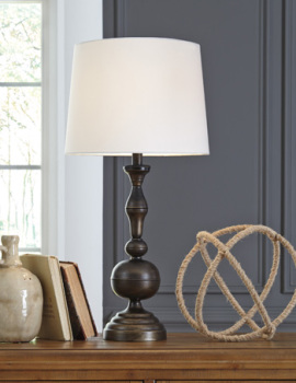 Ashley Metal Table Lamp (2/CN)/Aadi