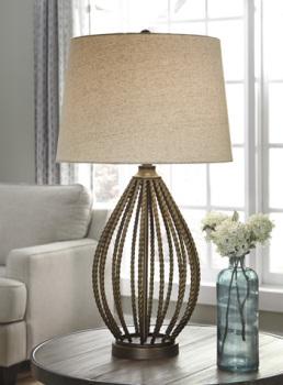 Ashley Metal Table Lamp (1/CN)