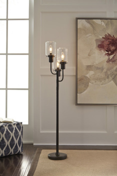 Ashley Metal Floor Lamp (1/CN)/Jaak
