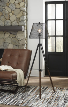 Ashley Metal Floor Lamp (1/CN)/Leolyn