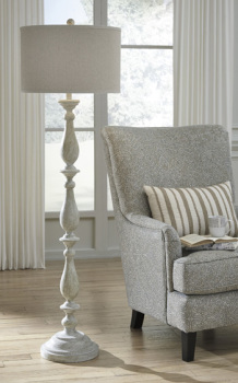 Ashley Poly Floor Lamp (1/CN)