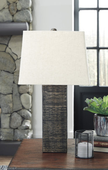 Ashley Wood Table Lamp (2/CN)/Mahak