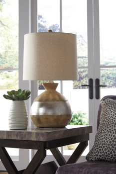 Ashley Poly Table Lamp (1/CN)/Mandla