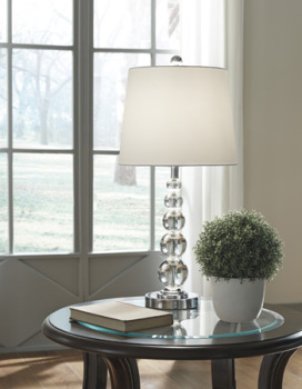Ashley Crystal Table Lamp (2/CN)