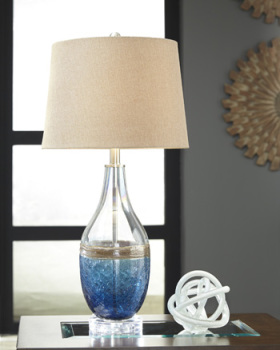 Ashley Glass Table Lamp (2/CN)