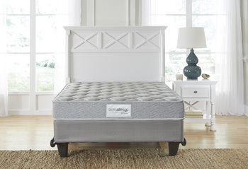 Twin Mattress/Silver Ltd/White