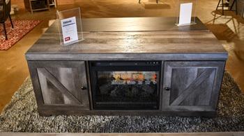 Model: EW0440-168 | Ashley LG TV Stand w/Fireplace Option