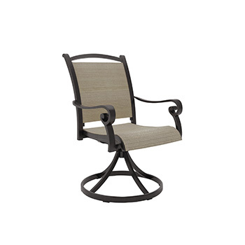 Ashley Sling Swivel Chair (2/CN)