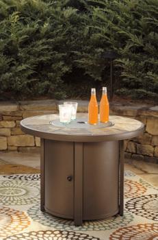 Round Fire Pit Table/Predmore