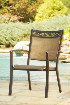 Ashley Sling Chair (4/CN)/Carmadelia