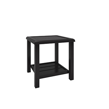 Ashley Square End Table/Castle Island