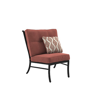 Ashley Armless Chair w/Cushion (1/CN)