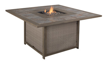 Ashley Square Fire Pit Table/Partanna