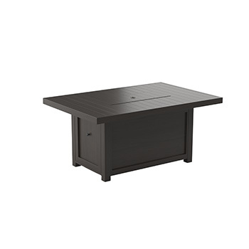Ashley Rectangular Fire Pit Table