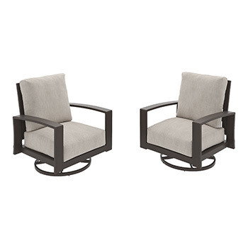 Ashley Swivel Lounge Chair (2/CN)