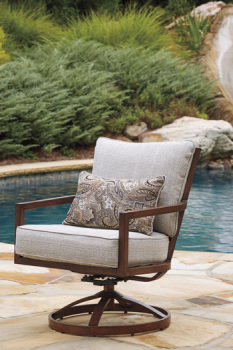 Ashley Swivel Lounge Chair (2/CN)