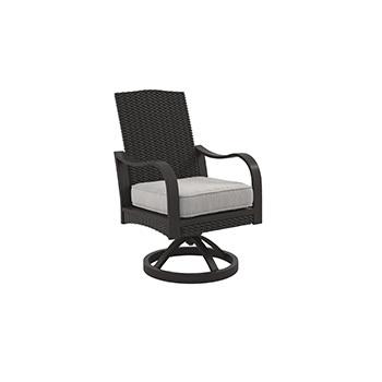 Ashley Swivel Chair w/Cushion (2/CN)