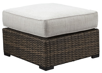 Ashley Ottoman with Cushion