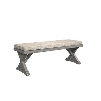 Ashley Bench with Cushion/Beachcroft
