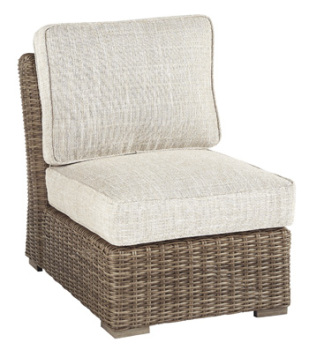 Ashley Armless Chair w/Cushion