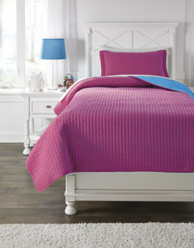 Ashley Twin Coverlet Set/Dansby