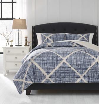 Ashley King Comforter Set/Sladen