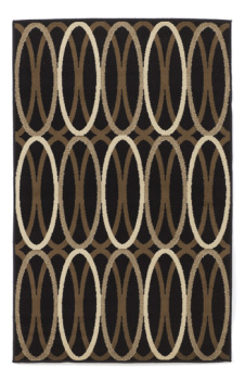 Ashley Medium Rug/Kyle/Black/Brown