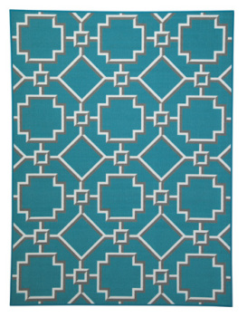 Ashley Medium Rug/Zarek/Turquoise