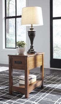 Ashley Chair Side End Table/Breegin