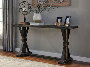 Ashley Sofa Table/Beckendorf/Black