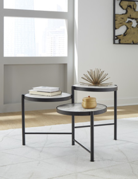Ashley Round Cocktail Table/Plannore