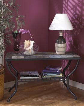 Ashley Sofa Table/Antigo/Black