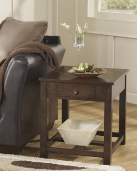 Ashley Rectangular End Table/Marion