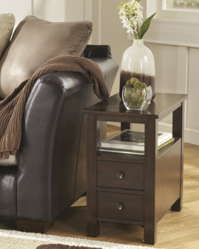 Ashley Chair Side End Table/Marion
