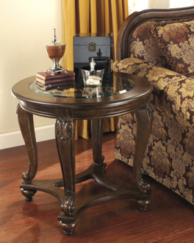 Ashley Round End Table/Norcastle
