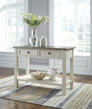 Ashley Sofa Table/Bolanburg/Two-tone