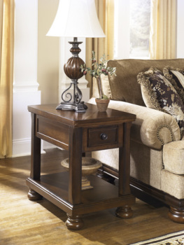 Ashley Chair Side End Table/Porter