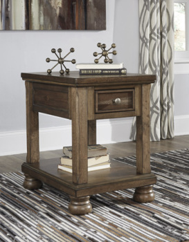 Ashley Chair Side End Table/Flynnter