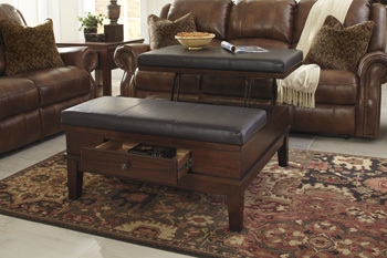 Ashley Ottoman Cocktail Table/Gately