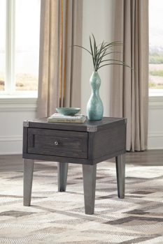 Ashley Rectangular End Table/Todoe