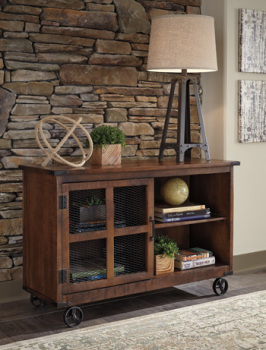 Ashley Console/Norlandon/Medium Brown