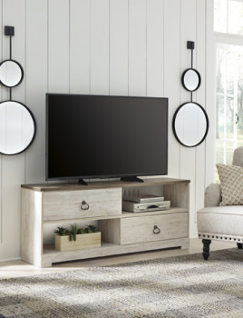 Ashley Large TV Stand/Willowton