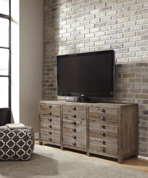 Ashley Extra Large TV Stand/Keeblen