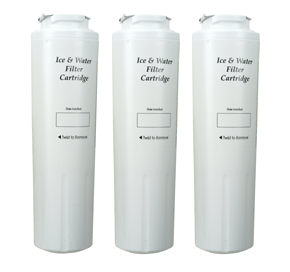 Bottom Mount Refrigerator Water Filter- Interior Turn Cyst (3 Pack)