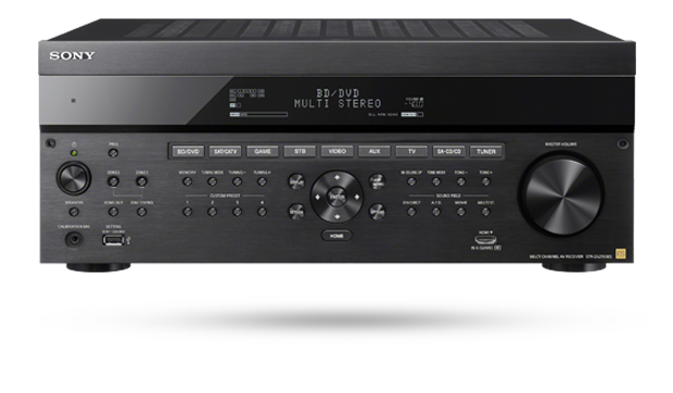 STR-ZA2100ES 7.2 Channel AV Receiver with Dolby Atmos and DTS:X optimized for integrated operation.
