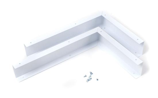 Unbranded Microwave Hood Filler Kit - White
